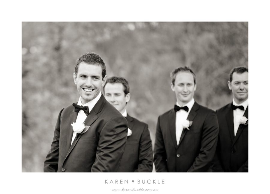 Groom Portrait by Karen Buckle